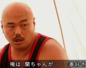 蘭 モデル すっぴん 画像 ブサイク ハーフ クロちゃん