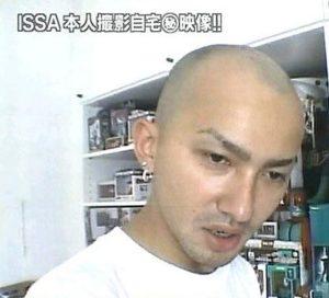 ISSA ハゲ カミングアウト 治った 眉毛 変 タトゥー